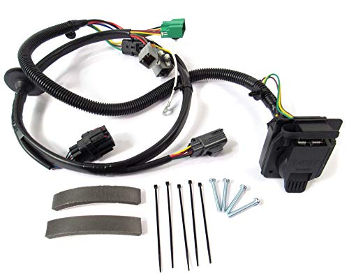 Atlantic British Land Rover YWJ500170 Trailer Wiring Kit for 2006-2009 Range Rover Sport (Range Rover Sport Supercharged 2008)