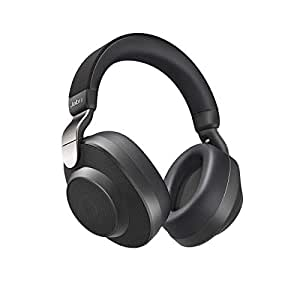 Jabra Elite 85h Wireless Bluetooth Over-Ear Noise Cancelling Headphones with ANC and SmartSound Technology, 36 Hours Battery with One-Touch Amazon Alexa Built-in, Titanium Black