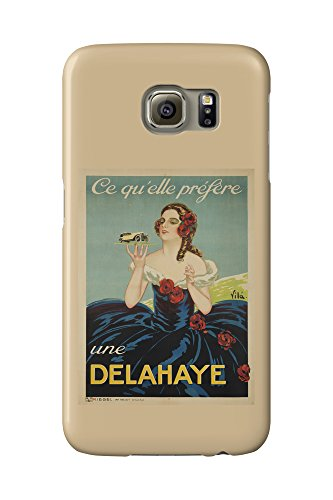 delahaye-vintage-poster-artist-vila-france-c-1935-galaxy-s6-cell-phone-case-slim-barely-there