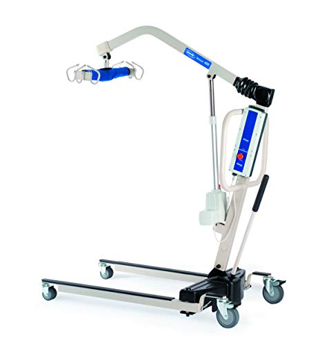 Invacare Reliant Battery-Powered Patient Lift with Manual Low Base, 45