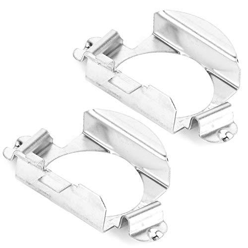 Cuque 2 Pcs H7 LED Headlight Bulbs Adapter 1 Pair