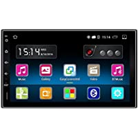 Ezonetronics Android 5.1 FM/AM Car Radio Stereo 2Din 7 inch Capacitive Touch Screen GPS Navigation Bluetooth USB SD Mirro Link Player 1G DDR3 + 16G NAND Memory Flash CT0009