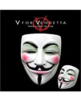 OM(TM) V for Vendetta Mask Resin Anonymous Guy Fawkes Halloween Mask