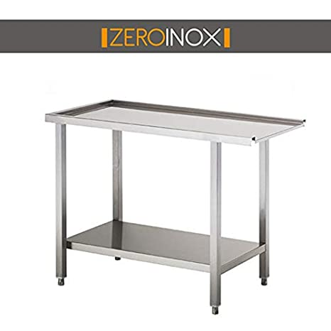 ZeroInox Mesa Salida con sottopiano- Profundidad 75 - Todas ...