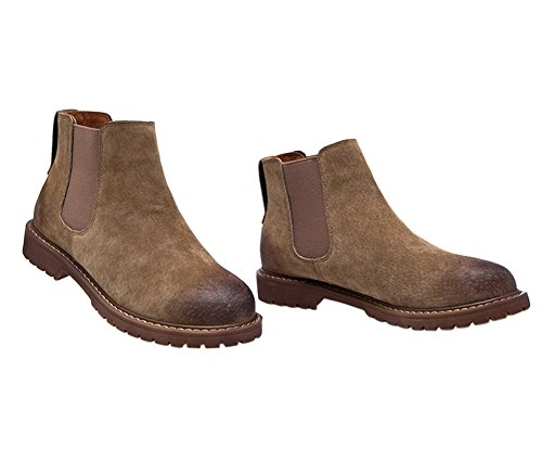 Brown Unisex Leather Teenager Ankle 1bacha Chelsea Tortor Bootie Adult w1Z8qOn55B