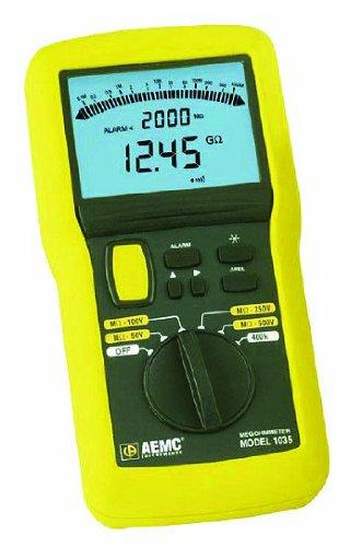 AEMC 1035 Digital Megohmmeter Field Kit with Test