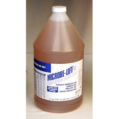 Healthy Lift - Microbe-Lift Professional Blend Liquid Gallon 10PBLXG4 Promotes Healthy Pond, Fish & Plants