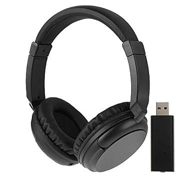 KST-900ST 2.4GHZ Auricular inalámbrico con el Volumen del Control, soporta la Radio de FM/AUX / MP3: Amazon.es: Electrónica