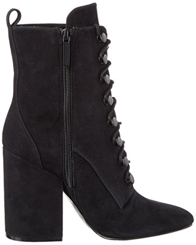 Kendall and Kylie Kkbridget, Stivali Donna Nero (Black Fh Kid Suede)