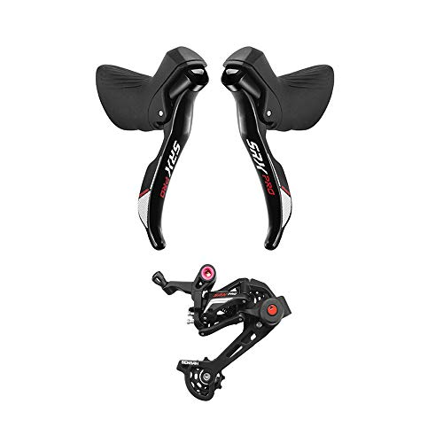 SENSAH Cyclocross Road Bike Shifters Double 1×11 Speed Lever Brake Bicycle Derailleur