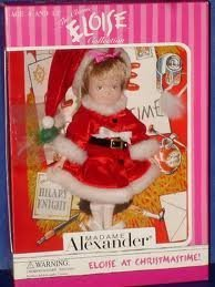 Eloise At Christmas.Amazon Com Eloise At Christmastime By Madame Alexander