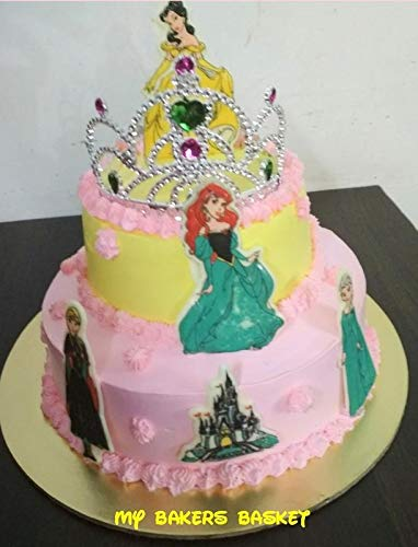 Magnificent My Bakers Basket Veg Pineapple Sponge Whipped Cream Princess Funny Birthday Cards Online Unhofree Goldxyz