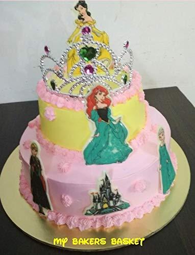 Miraculous My Bakers Basket Veg Pineapple Sponge Whipped Cream Princess Funny Birthday Cards Online Necthendildamsfinfo