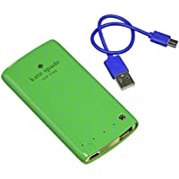 kate spade new york Portable Battery Charger [4000 mAh] USB Charging Power Bank Backup Battery Pack - Green
