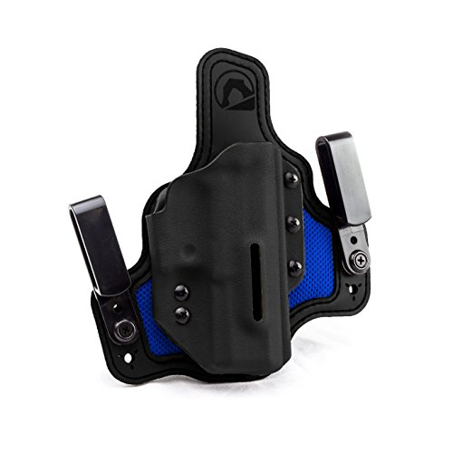 Black Arch Protos-M Breathable Hybrid Holster for Walther Creed Right Hand Black/Royal/Black
