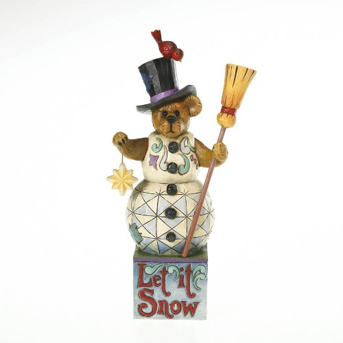 - Boyds Bears Jim Shore Frostley Broominbeary Let It Snow