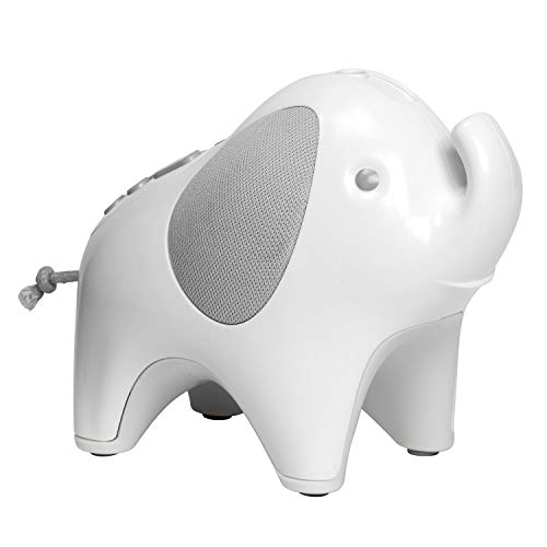 Cheap Skip Hop Moonlight & Melodies Crib Soother and Baby Night Light, Elephant