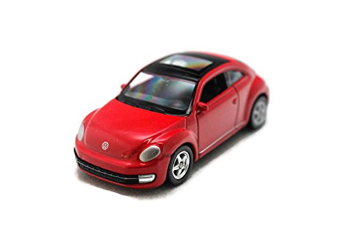 Welly 1:60 Volkswagen The New Beetle Diecast Car Model Collection (Red) (L x W x H),7.5 x 2.5 x 3 (Volkswagen Model Car compare prices)