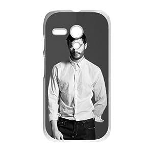 Motorola G Cell Phone Case White Jamie Dornan aovg