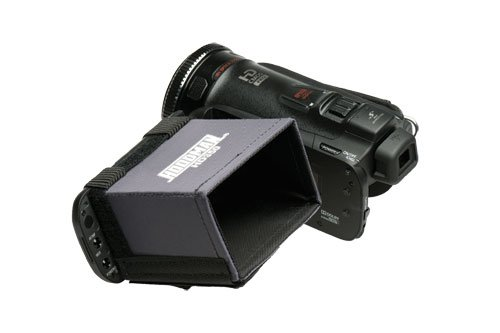 Hoodman HD350 Video Hi-Def 16x9 LCD Camcorder Hood from Hoodman