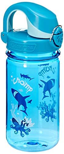 (Nalgene Kids OTF Chomp Bottle (Slate/Blue, 12-Ounce))