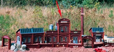 PIKO G Scale Brewery Main Building Kit