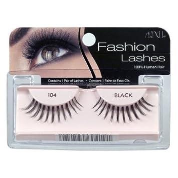 0795e1b744a Amazon.com : Ardell Fashion Lashes Pair - 104 (Pack of 4) : Fake Eyelashes  And Adhesives : Beauty