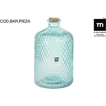 La Mediterranea - Botella Vidrio 5l c/tapón Primavera grabada