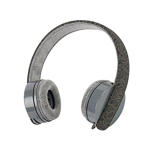 XHKCYOEJ Headset Stereo Headset/Headphones/Headphones/Computer/Mobile/Stereo/Music,Gules: Amazon.co.uk: Electronics