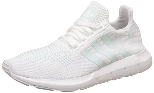 footwear Femme Mint grey Blanc ice Basses Run Adidas White One Swift tUAwXX
