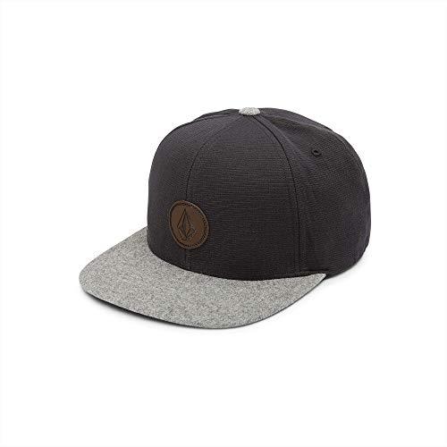 - Volcom Men's Quarter Fabric Hat, Medium Grey, One Size Fits All