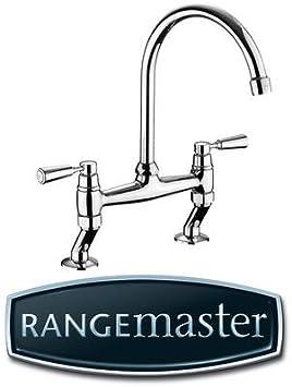 Rangemaster Tbl3bf Bf Belfast Bridge Mixer Brush Finish Kitchen Tap Amazon Com