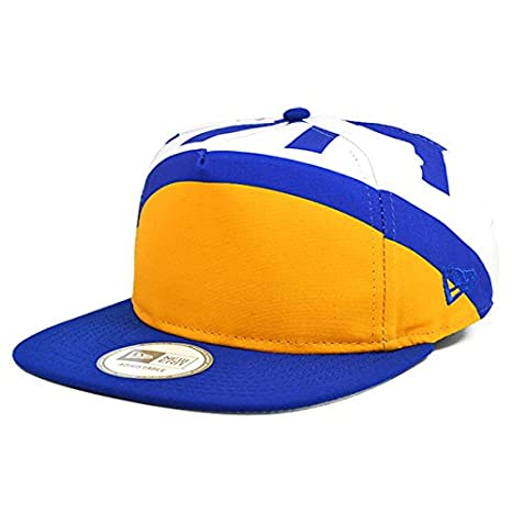 cheap for discount 8cb26 d1733 Image Unavailable. Image not available for. Color  Golden State Warriors  TEAM TOUGH A-Frame Snapback 9Fifty New Era NBA Hat