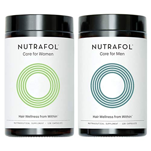 Supplement for Hair Loss Regrowth Treatment - Mens and Womens Nutrafol Bundle