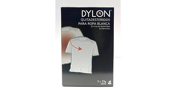DYLON QUITADESTEÑIDOS PARA ROPA BLANCA 3X25GR.: Amazon.es: Hogar