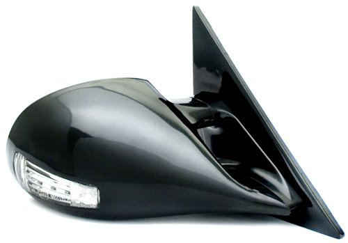 IPCW CML-S10 Black M3 Style Manual Side Mirror with LED Turn Signal - Pair M3 Style Manual Mirrors Car