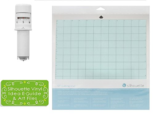 Silhouette Cameo 3 Autoblade and 12 x 12 Inch Silhouette Cameo Cutting Mat Combo Pack by Silhouette America