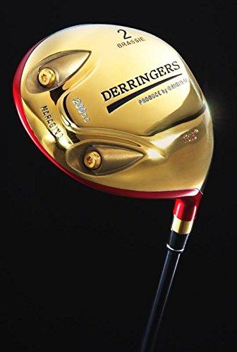 BRS-01-R デリンジャー パワーブラッシー 2番ウッド 短尺 カーボンシャフト R(レギュラー)