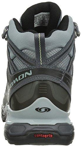 Walking TEX Mid Salomon GORE Trail X Waterproof Boots Grey Ultra Women's qgwx8I