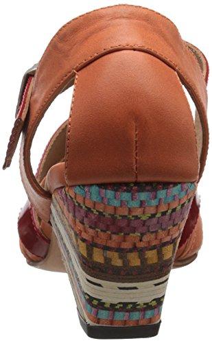 Orange 100% Original cheap sale footlocker finishline John Fluevog Women's Objective Fisherman Sandal Orange/Red sgg2bh