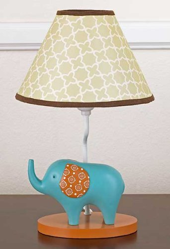 COCALO IN THE JUNGLE LAMP BASE & SHADE