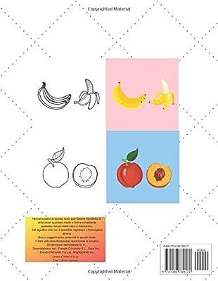 Frutta Libro Da Colorare Per Bambini Disegni Da Colorare Di