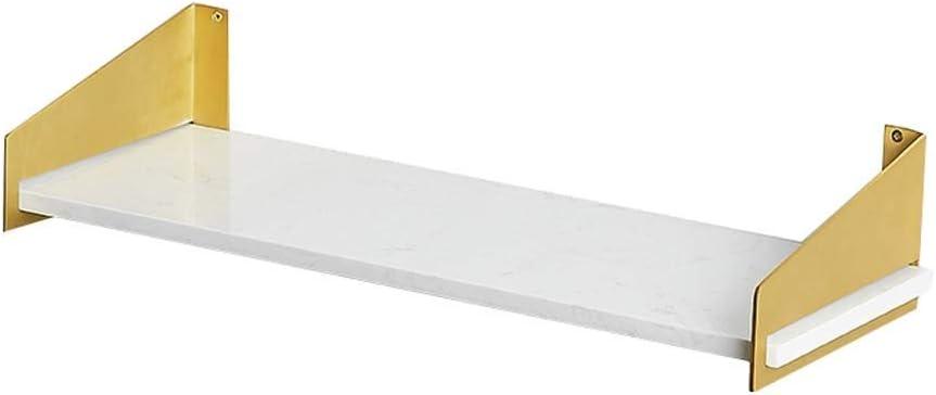 Admir Moderna Mensola da Parete in Ottone Staffa, Marmo
