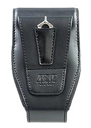 Asp Double Handcuff Case, Chainhingerigid, Snap-loc Clip, Black