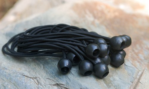 King Canopy Ball Bungees, 50 Pack, Black - Buy Online in