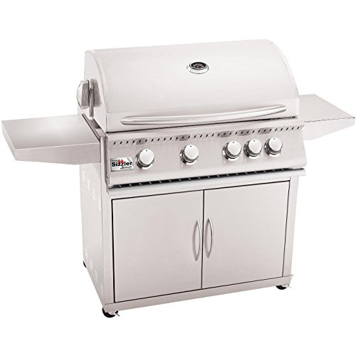 Summerset Sizzler 32-inch 4-burner Freestanding Propane Gas Grill With Rear Infrared Burner - Siz32-lp by Summerset