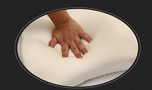 Meiyiu Car Lumbar Back Support Pillow Space Memory Cotton Car Cushion Beige by Meiyiu (Image #3)