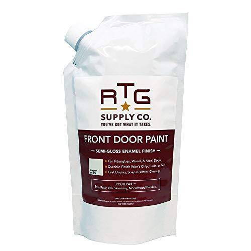 RTG Front Door Paint (Quart, Simply White)