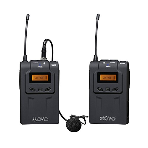Movo WMIC70 Wireless 48 Channel Microphone product image
