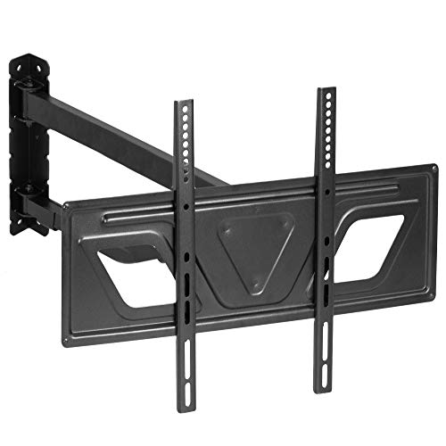 VIVO Corner TV Wall Mount for 37 to 60 inch Screens | Telescoping Full Motion Articulating Heavy Duty Bracket (MOUNT-CR02V)